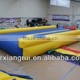 Flat Inflatable Gym Tumble Track Air Sealed DWF Material Safe & Strong Gymnastic Mat