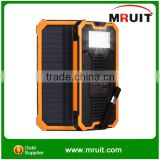 Factory Price Portable Battery Charger for Smartphone 15000mAh Solar Power Bank                                                                         Quality Choice
