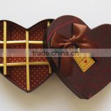 Customized luxury chocolate box, chocolate packaging box, chocolate gift box for Hot Sale shipping