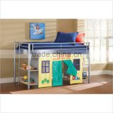 hot sale cheap cool triple bunk bed , colorful bunk bed for kids for home , school , army use
