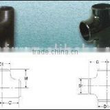Tee, Cross (seamless & butt welded), fitting,carbon steel pipe fitting, manufacturer