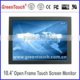 "10.4"" open frame touch monitor for Android / LINUX/windows operate system"