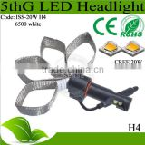 Car led head light with high power ballast/driver/stabilizer front head light