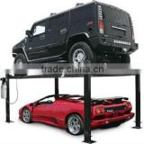 4 Post Parking Lift (Car Stacker) / Electrical double floor 4 post parking device