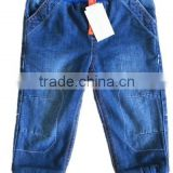 wholesale kids boys fall and winter elastic high waist Children's jeans