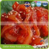 china supplier frozen seasoned salad squid Japanese flavor salad