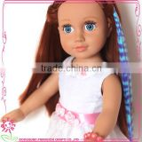 Baby dolls toy accessories long doll hair wigs