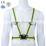 high visibility road traffic safety cycling reflective vest
