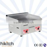 commercial equipment for restaurant 2 Burners gas teppanyaki grill/professional griddle/flat gas grill