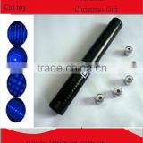 450nm 1000mW (1W ) focusable burning true blue laser pointer torch with star cap and safety key +GOGGLES +EMS FREE SHIPPING
