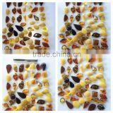 Irregular shape Amber caboshon, Natural Baltic Amber pendant
