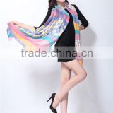 Colorful Printing All March Long Scarf/Shawl