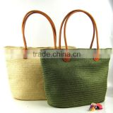 Z61114Y Hot sales Summer Beach Leisure female bag/rattan woven bamboo handbag/woven straw women bag handbags/Handmade tote