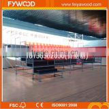 Outdoor spectator stand, assembly metal bleachers, shower stand