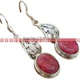 Big Dreams !! Rainbow Moonstone 925 Sterling Silver Earring Sterling Jewellery Indian Jewelery Supplier
