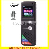Professional 8GB LCD Digital Voice Recorder with VOR MP3 Player long time voice recorder