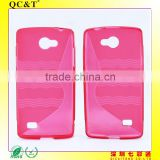 s line Newest arrival hot selling factory price s line tpu soft case for LG Lancet/VW820