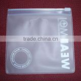 Non-toxic Phthalate Free Clear Vinyl PVC plastic packaging bag with zipper                                                                         Quality Choice