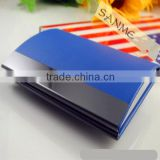 Highly quality hot sales Stainless steel name cardcase/ Good design plastic business name card case