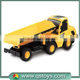 2015 Hot sale rc hobby 1:20 5 channel engineering rc toys rc dump truck container truck