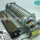 Shaded Pole Motor YJ61-14 with air blower for Oven, Electric Fireplace, Heater. oven tangential fan
