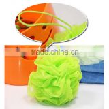7 Colors Scrub Mesh Net Wash Bath Ball Shower Body Exfoliate Puff Sponge
