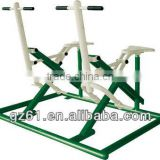 outdoor body strong fitness equipment gym double foot builder