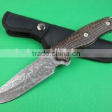 OEM 5cr15 steel fixed blade survival knife UD401893