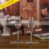 1 Pair 2 Pieces Wedding Decoration Sets Fancy Cheap Champagne Flutes