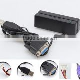 90mm mini msr mcr magnetic stripe card reader for POS Time Attandance Taxi Car GPS tracking systems