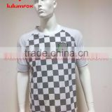MTS12823 OEM 100%POLYESTER Sublimated checked sports wear, basketball uniform, soccer uniform