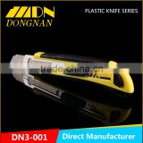 High quality customized color set pocket knife with blade cutter knife 18mm Utility knife