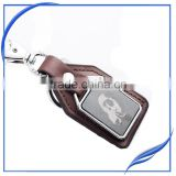 Promotion religious bmw leather keychain