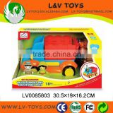 battery operated education take apart car toy