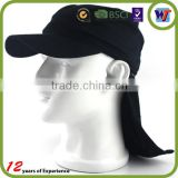 100% Polyester Summer Unisex Sun Protection Neck Cover Bucket Hat
