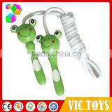 cute wooden rope skipping, rope skipping with animal handle