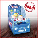 coin operated shooting ball game lottery machine Penguin Paradise ticket redemption arcade game machine