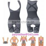 Womens Slimming Bamboo Underbust Shapewear Shaper Suit Body Control Bodysuit