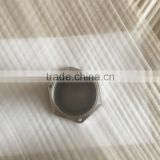 Gr5 Titanium screw thread CNC machining parts