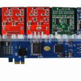 8 port FXS/FXO analog Asterisk PCI-E card