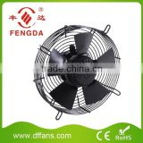 200mm axial fan with external rotor motor
