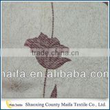 Hot selling Made in china Colorful Beautiful embroidered sheer voile curtain fabric