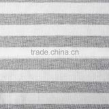 Hot New Products 2016 Yarn Dyed Stripe Fabric KNITTED Viscose Single Jersey Fabric