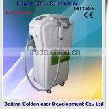 Anti-aging 2013 Hot Selling Multi-Functional Beauty Equipment E-light+IPL+RF Machine Diode Laser Therapy Apparatus Acne Removal