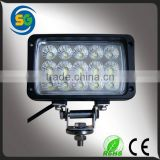Tractor Offroad 45w LED Work Lights Auxiliary Lamp Fog light Truck SUV ATV Boat Machines