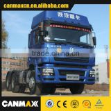 Popular 6*4 SHACMAN tractor truck blue
