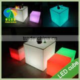 Wholesale Modern Furniture Night Club Plastic Glow Led cube Sofa