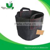 hydroponic non woven fabric tomato grow bag/ fabric planting pot bags/ fabric potato grow bag