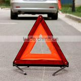 OEM GB fault car warning triangle warning sign car parking with a tripod vehicle reflective triangle