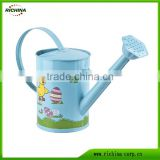 Kids Watering Can, Mini size, galvanized steel material,customized artwork design, any color avialable